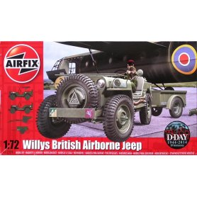 AIRFIX 02339 WILLIS JEEP,TRAILER