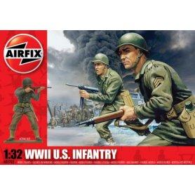 Airfix 1:32 US infantry / WWII   14 figurines  