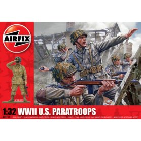 Airfix 1:32 US paratroops / WWII   48 figurines  