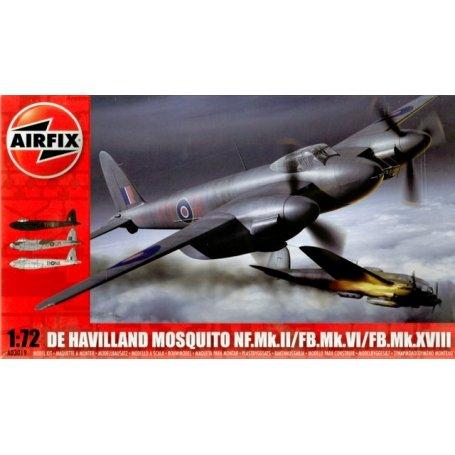 Airfix 1:72 de Havilland Mosquito NF.Mk.II / FB.Mk.VI / FB.Mk.XVIII