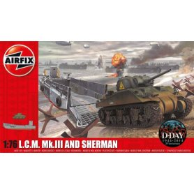 AIRFIX 03301 LCM & SHERMAN 1/76 S.3