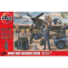 Airfix 1:48 RAF ground personnel | 10 figurines |
