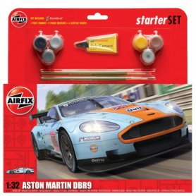 Airfix 1:32 Aston Martin DBR9 | Starter Set | w/paints |