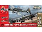 Airfix 1:72 50136 Fw190A-8 & Hawker Typhoon