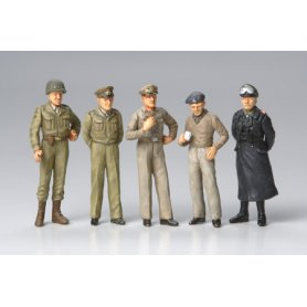 Tamiya 1:48 Famous generals | 5 figurines |