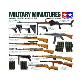 TAMIYA 35111 GER. INFANTRY WEAPONS