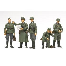 Tamiya 1:35 German field commander set | 5 figurines |