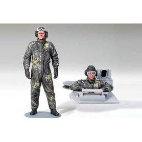 Tamiya 1:16 Bundeswehr tank crew | 6 figurines |