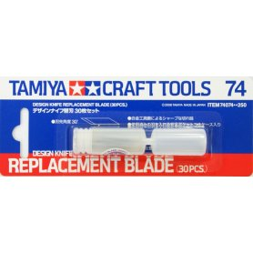 TAMIYA 74074 DESIGN KNIFE BLADE  30