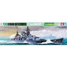 Tamiya 1:700 German battleship Scharnhorst