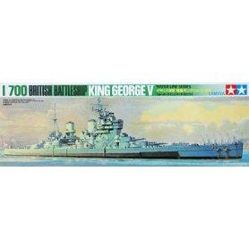 Tamiya 1:700 British battleship HMS King George V