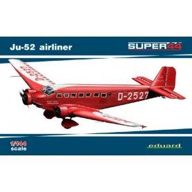 EDUARD 4423 JU-52 AIRLINER SUPER44