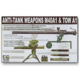 AFV Club 1:35 Anti-tank weapon M40A1 and TOW A1