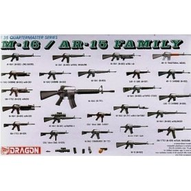 DRAGON 3801 M-16/AR-15 FAMILY  1/35