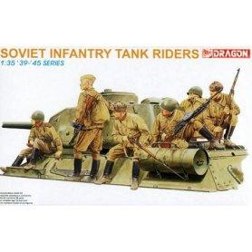 DRAGON 6197 SOVIET INF.TANK R. 1/35