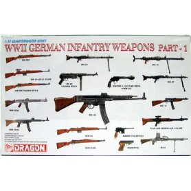 Dragon 3809 1:35 WWII German Infantry Weapons 1