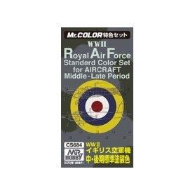 Zestaw 3 farb MR.COLOR GUNZE RAF COLORS 2 FOR AIRCRAFT