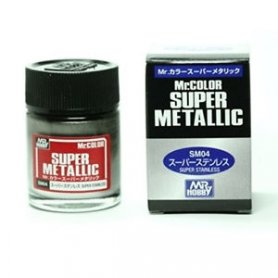 Mr.Hobby Mr.Color Super Metallic STAINLESS STEEL