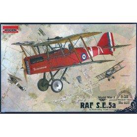 RODEN 607 RAF S.E.5a W/WOLS.VI 1/72