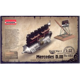 Roden 1:32 623 1/32 ENGINE MERCEDES DIII