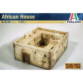 ITALERI 6139 AFRICAN HOUSE   1/72