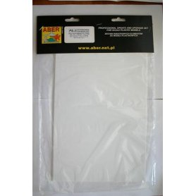 ABER Polystyrene boards PS-1 195mm x 315mm x 0.25mm / 5pcs..