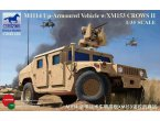 Bronco 1:35 CB35136 M1114 Up-Armoured Vehicle w/XM153 CROWS II