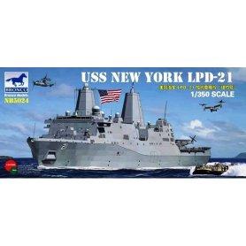 BRONCO NB 5024 USS LPD-21 NEW YORK