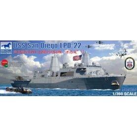 BRONCO NB 5038 LBD-22 USS San Diego