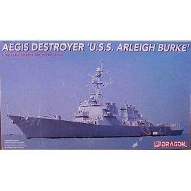 Dragon 1:700 American rocket destroyer USS Arleigh Burke