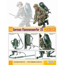 DRAGON 75036 GER. FLAMMENWERFER 35