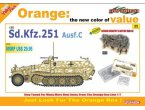 DRAGON CH 9135 SDKFZ 251 C +GER.INF