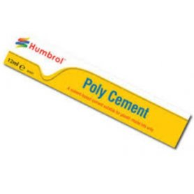 HUMBROL Klej w tubce Poly Cement - tuba 12 ml