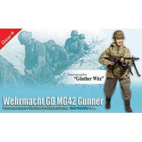 DRAGON 70771 GROSSDEUT. MG42 GUNNER
