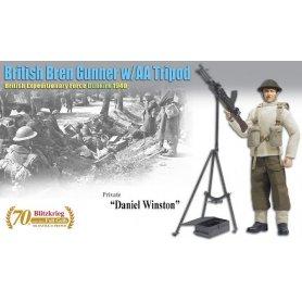 DRAGON 70801 BRITISH GUNNER