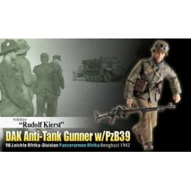 Dragon 1:6 70820 DAK SLDIER W/ANTI TANK