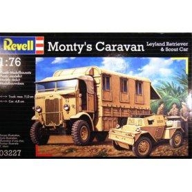 REVELL 03227 MONTY'S CARAVAN   1/76
