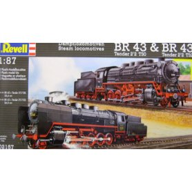 REVELL 02157 STEAM LOCOMOTIVE BR 43