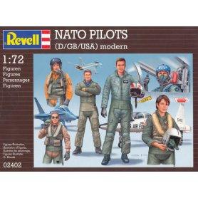 REVELL 02402 COMBAT PILOTS D/GB/US