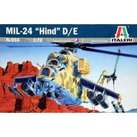ITALERI 0014 MIL-24 HIND D/E 1/72