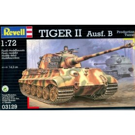 REVELL 03129 TIGER II AUS. B 1/72
