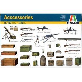 ITALERI 0407 ACCESSORIES