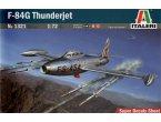 ITALERI 1321 F-84 G THUNDERJET