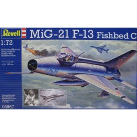 REVELL 03967 1/72 Mig-21 F.13