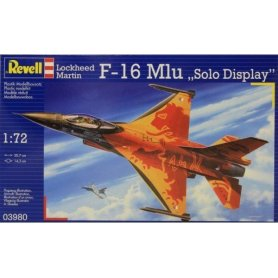 Revell 1:72 Lockheed Martin F-16 Mlu SOLO DISPLAY