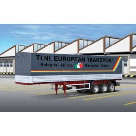 Italeri 1:24 3908 Canvas Trailer 40 ft