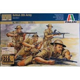 ITALERI 6077 WWII BRITISH 8TH