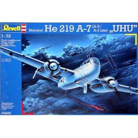 REVELL 04666 HEIKEL HE219 UHU  1/32