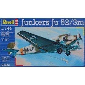 REVELL 04843 JUNKERS JU52/3M  1/144