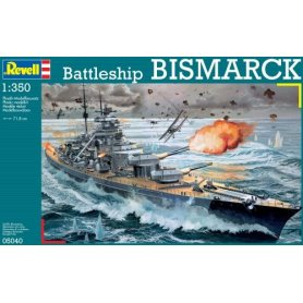 REVELL 05040 BISMARCK         1/350